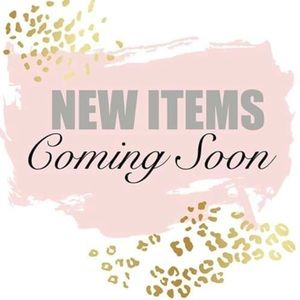 New items added and more coming soon!